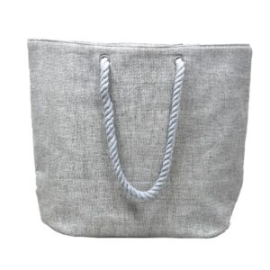Sac shopping gris Simla