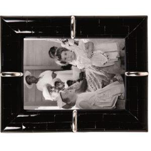 Cadre photo corne noir 13x8cm Lifestyle