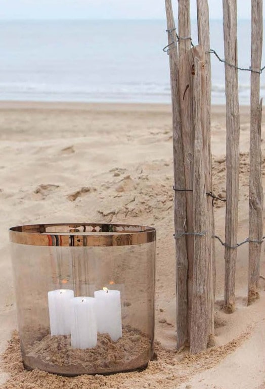 p 8 8 5 885 Lanterne platine Lifestyle 32 cm - Lanterne platine Lifestyle 32 cm
