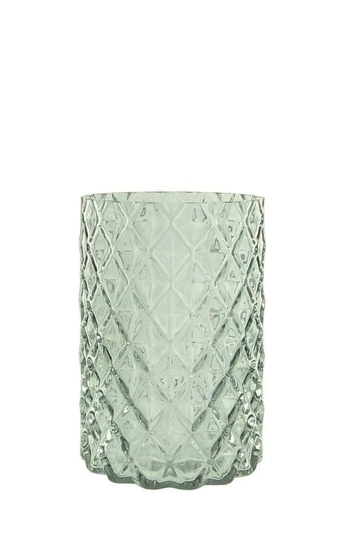 vase sparky bleu - Vase bleu transparent Sparky