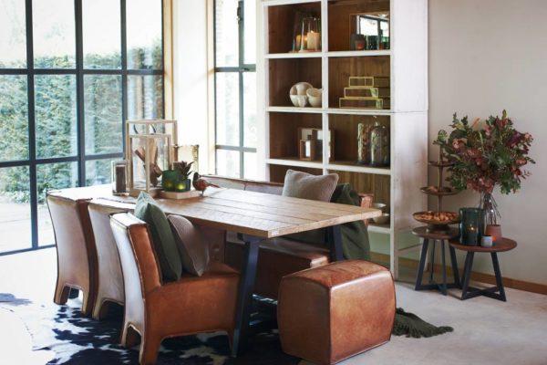 lifestyle kast bellport 150 - Armoire en bois Blanc 150 cm Bellport