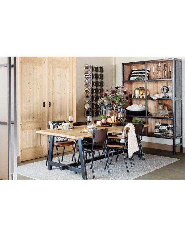p 2 6 8 5 2685 Buffet haut blanc 230 Bellport Lifestyle - Armoire en bois Blanc 230 cm Bellport