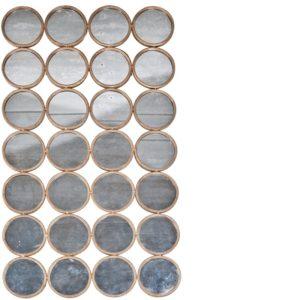 Miroir de cercles 140x80 cm Lifestyle