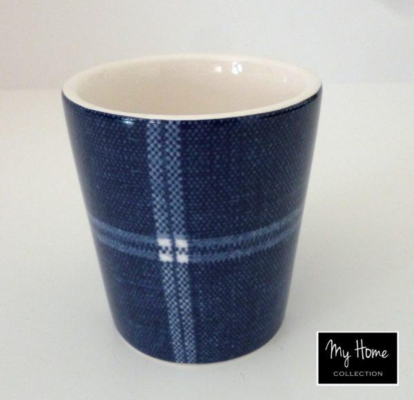 p 8 3 3 833 Mugs a cafe Jean a carreaux par 6 At Home - Mugs à café Jean à carreaux (par 6) At Home