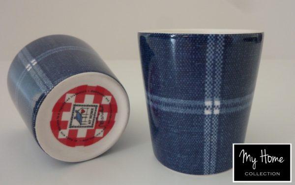 p 8 3 5 835 Mugs a cafe Jean a carreaux par 6 At Home - Mugs à café Jean à carreaux (par 6) At Home