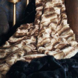Lifestyle-Plaid Camel 140x180cm