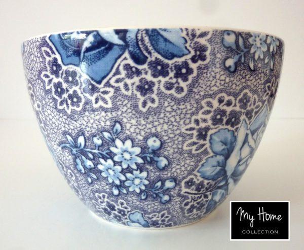 Bol bleu à fleurs At Home