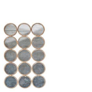 Miroir de cercles 60x100 cm Lifestyle
