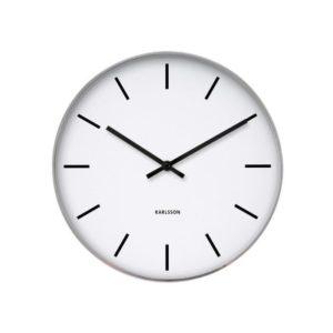 Horloge Station Classique Karlsson Blanc 37,5cm
