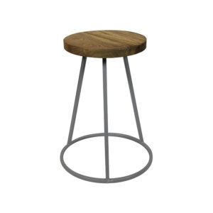 Tabouret Industriel Gris Saturn Red Cartel