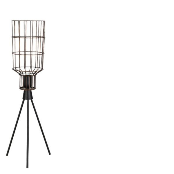 Lampe industrielle cylindrique Jefferson 58cm