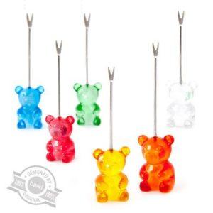 "Pics à apéritif x6 ""Gummy bear"" Balvi"