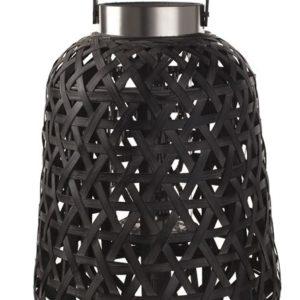 Lanterne Bambou noir 30 cm Braxton