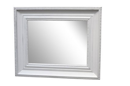 Miroir écru patiné Simla 30x40cm