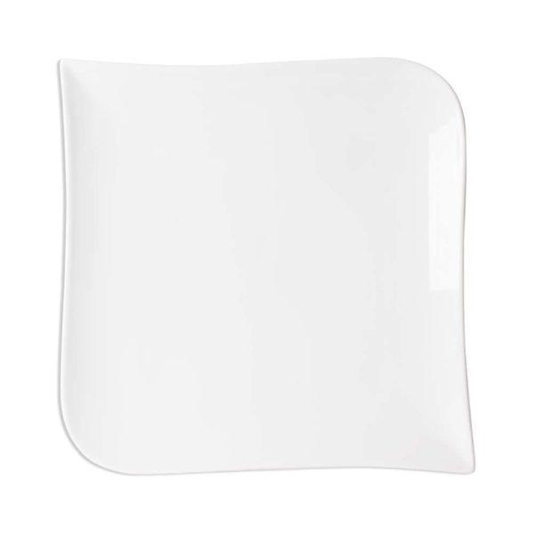 p 1 9 2 9 1929 Assiette plate en porcelaine Melody 25.5cm Blanc Lot de 6 - Lot de 6 Assiettes plates porcelaine Melody 25.5cm Blanc