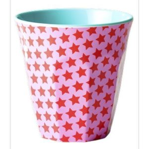Gobelet Melamine Girls Star Print