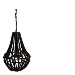 Suspension Perles Bella Noir S