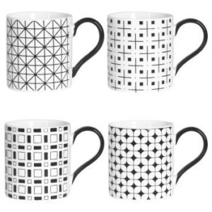 Mugs 34cl Optik coffret de 4