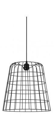 Suspension Cora Noir 40 cm