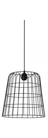 Suspension Cora Noir 35 cm