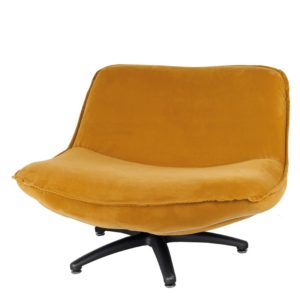 Fauteuil ocre Forli Lifestyle