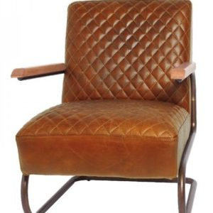 Fauteuil Edward Swing Marron Colombia Lifestyle