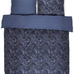 Parure housse de couette Mire bleu Essenza 240x220 et taies