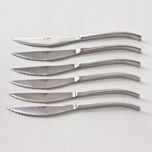 Coffret 6 Couteaux Steak Equilibre Inox