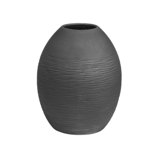 Vase Noir Bergen 23x27cm