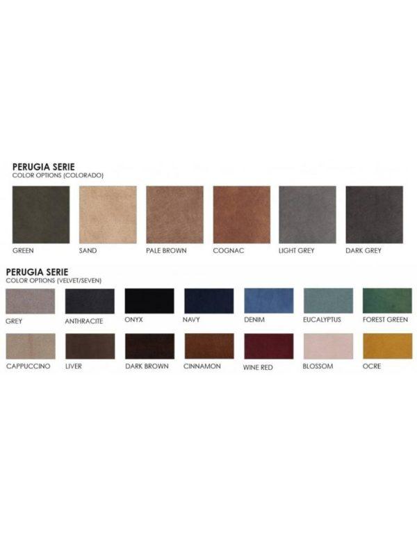 p 3 2 0 9 3209 Canape dangle droit Velours couleur Perugia Couleurs Lifestyle - Canapé d'angle droit Velours Perugia 14 Couleurs