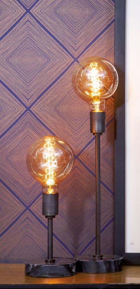 Lampe de table Narvic S noir Lifestyle