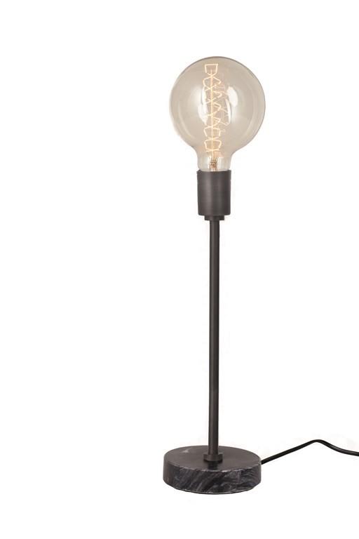 Lampe de table Narvic L noir Lifestyle