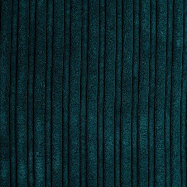 Coussin velours bleu Dasha 50x50cm Lifestyle