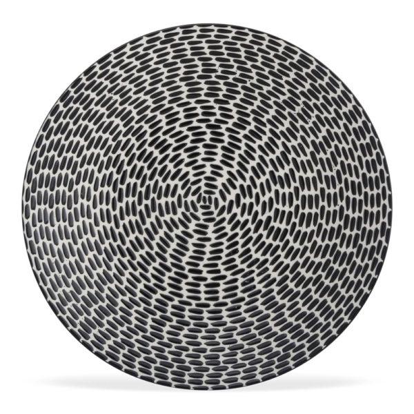 269285 - Lot de 6 Assiettes plates Patio 27cm