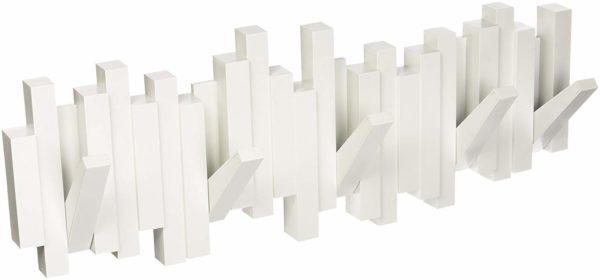 513UyEdkBKL. SL1500 - Patère Sticks blanc UMBRA 5 crochets