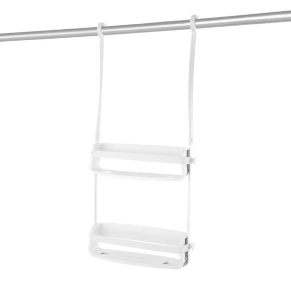 71GGWBDZkL. SL1500 - UMBRA Flex Shower Caddy. Organiseur de douche à 2 étagères