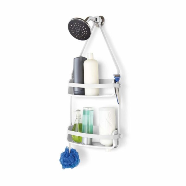 71UGzNyiU4L. SL1500 - UMBRA Flex Shower Caddy. Organiseur de douche à 2 étagères