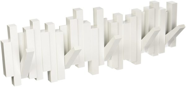 71fza9XGWgL. SL1500 - Patère Sticks blanc UMBRA 5 crochets
