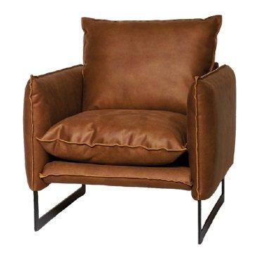 lifestyle milan sofa mersey f - Canapé Cuir 3 places Milan 7 Coloris