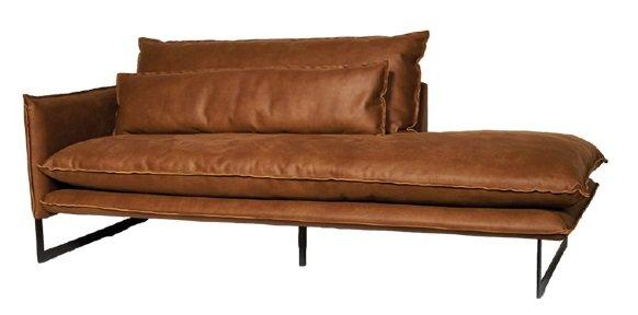 lifestyle milan sofa mersey left - Canapé Cuir 3 places Milan 7 Coloris