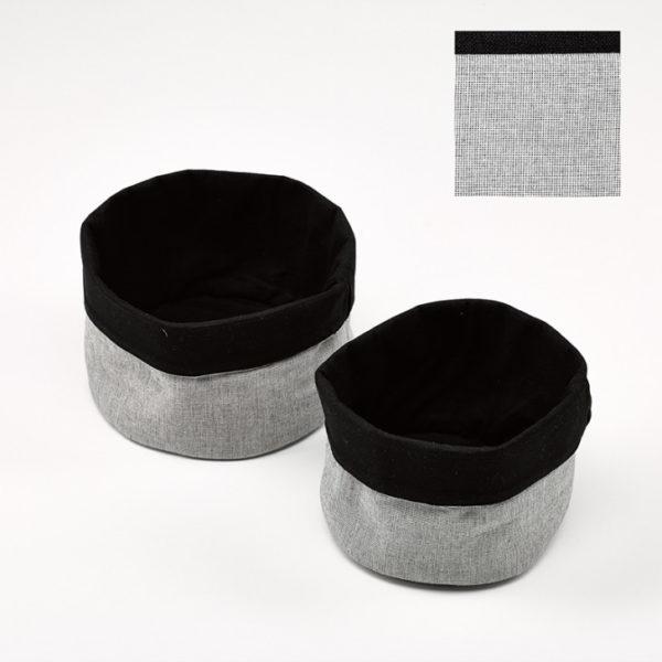 kit6201.56 breadb rd 1 - Panier à pain gris noir et blanc