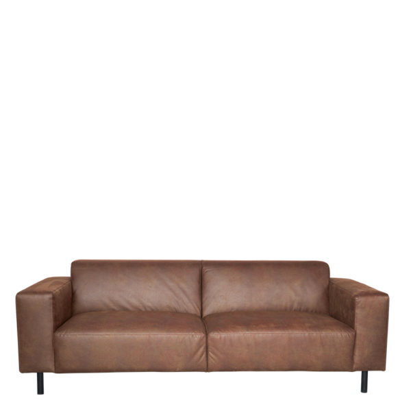 canape cuir toscane 3places Taupe Lifestyle - Canapé Cuir Toscane 3 Places 7 coloris Lifestyle