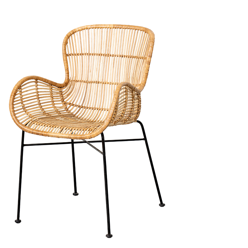 Fauteuil Rotin Kyoto Naturel Lifestyle My Home Collection