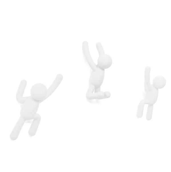 buddy hook blanc 3 - Crochets muraux Buddy blanc UMBRA lot de 3