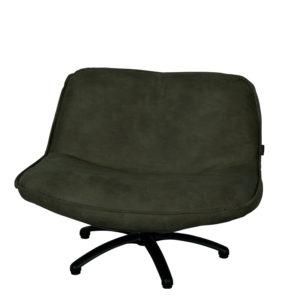 fauteuil pivotant forli cuir vert lifestyle - Meilleures ventes