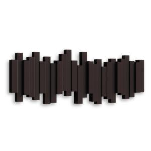 patère sticks noir