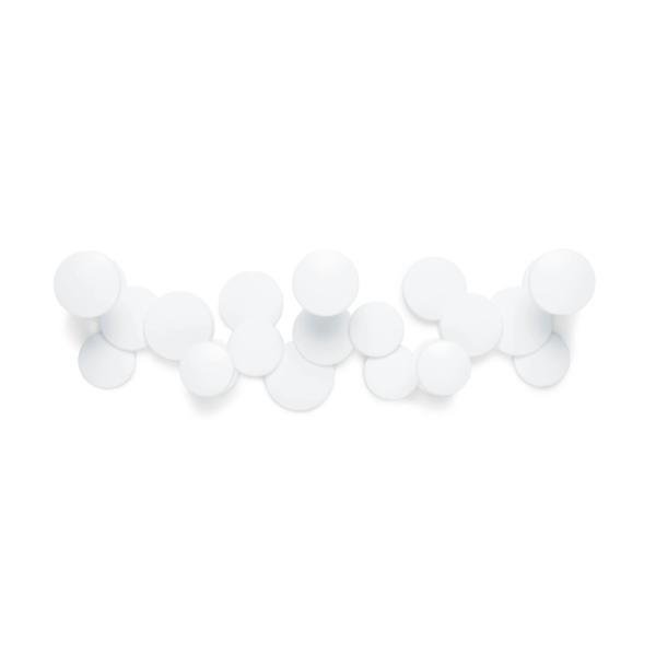 bubble wall hook blanc - Patère Bubble blanc UMBRA 5 crochets