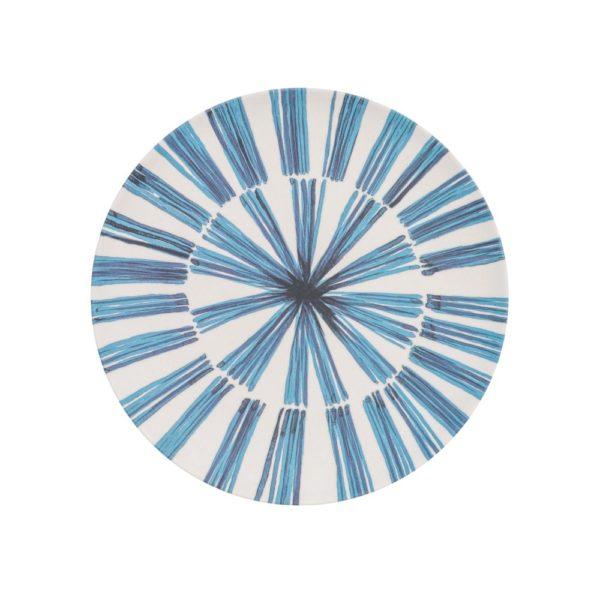 ASSIETTE - Assiette Bambou Traços 20 cm