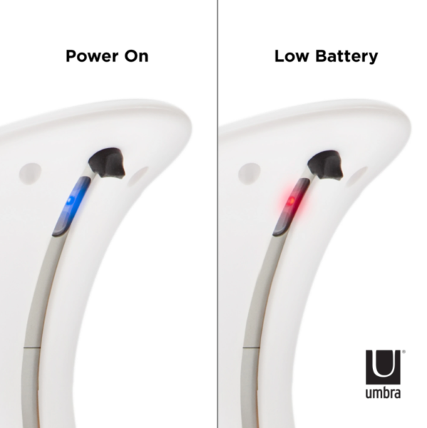 otto blanc 4 - Distributeur savon automatique blanc UMBRA