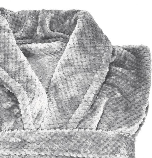 peignoir polaire maya argent 1 - Peignoir Maya Argent Vent du Sud
